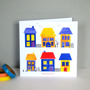 Happy New Home Greetings Card