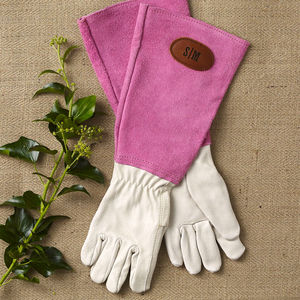 Personalised Gauntlet Gardening Gloves - for fathers