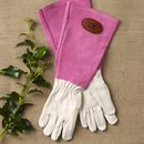 Personalised Gauntlet Gardening Gloves