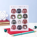 Christmas Jumpers Greeting Card