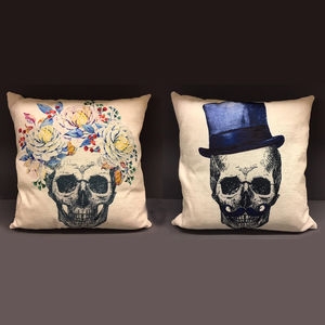 Til Death Cushions - decorative accessories