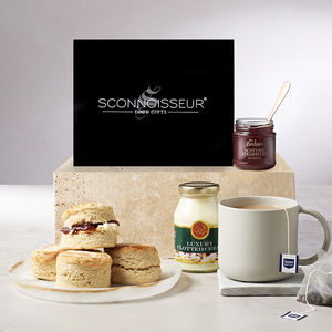 Cream Tea And Scones Gift Box - personalised mother's day gifts