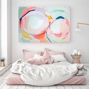 Nordic Pastel Delight, Canvas Art