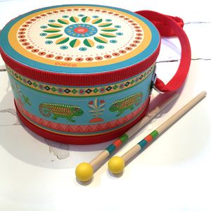 Children's Wooden Hand Drum