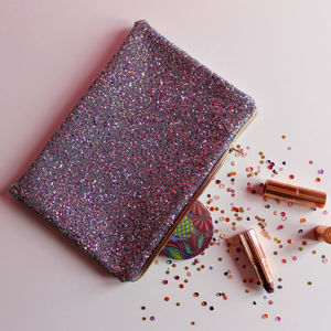 Glitter Clutch Bag - christmas clothing & accessories