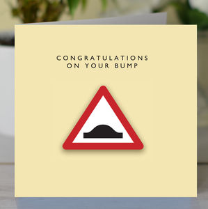 Congratulations On Your Bump Card