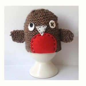 Wonky Robin Egg Cosy Kit - sewing & knitting