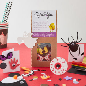 Spooky Craft Kit - party bags and ideas