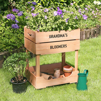 Personalised Raised Garden Planter