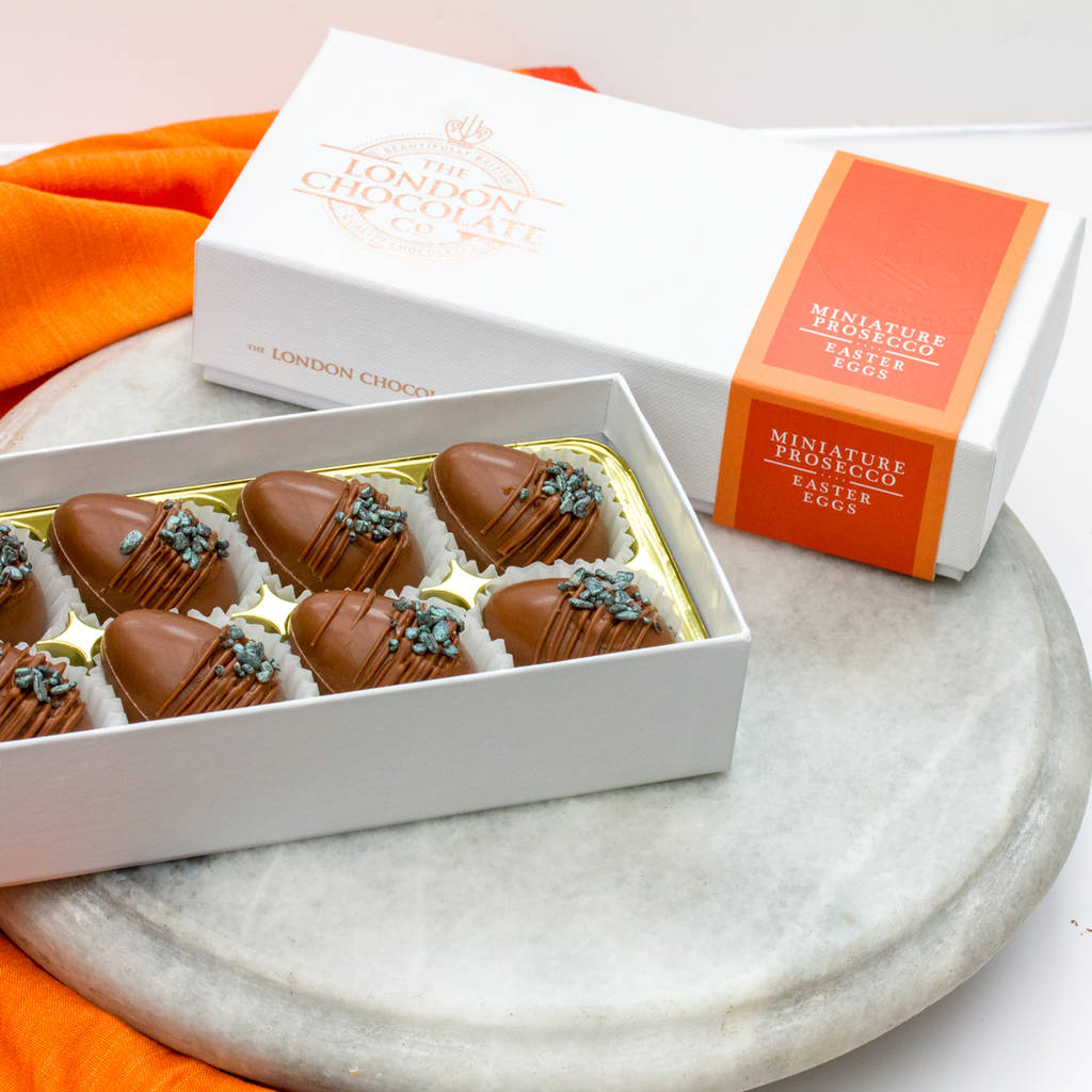 Limited Edition Prosecco Easter Eggs Gift Box