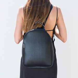 Perforated Neoprene Backpack