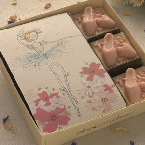 Chocolate Ballet Shoes - novelty chocolates