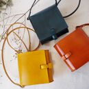 Handmade Leather Mini Satchel
