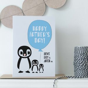 Personalised Children's Father's Day Card
