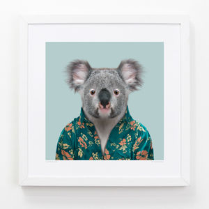 Koala Art Print - nursery pictures & prints