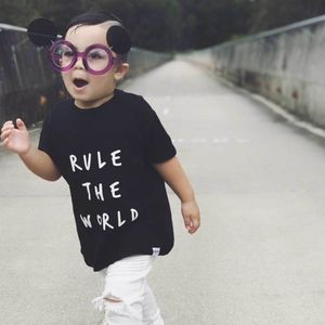 Rule The World T Shirt - the monochrome edit