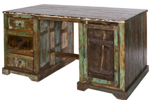 Kavi Reclaimed Wood Desk - office & study