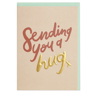 Pack Of Six 'Sending You A Hug' Cards