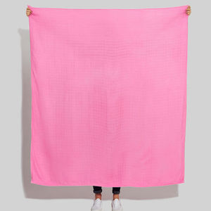 Bright Pink Scarf Blanket