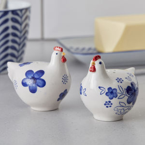 Chicken Salt And Pepper Shakers - salt & pepper pots