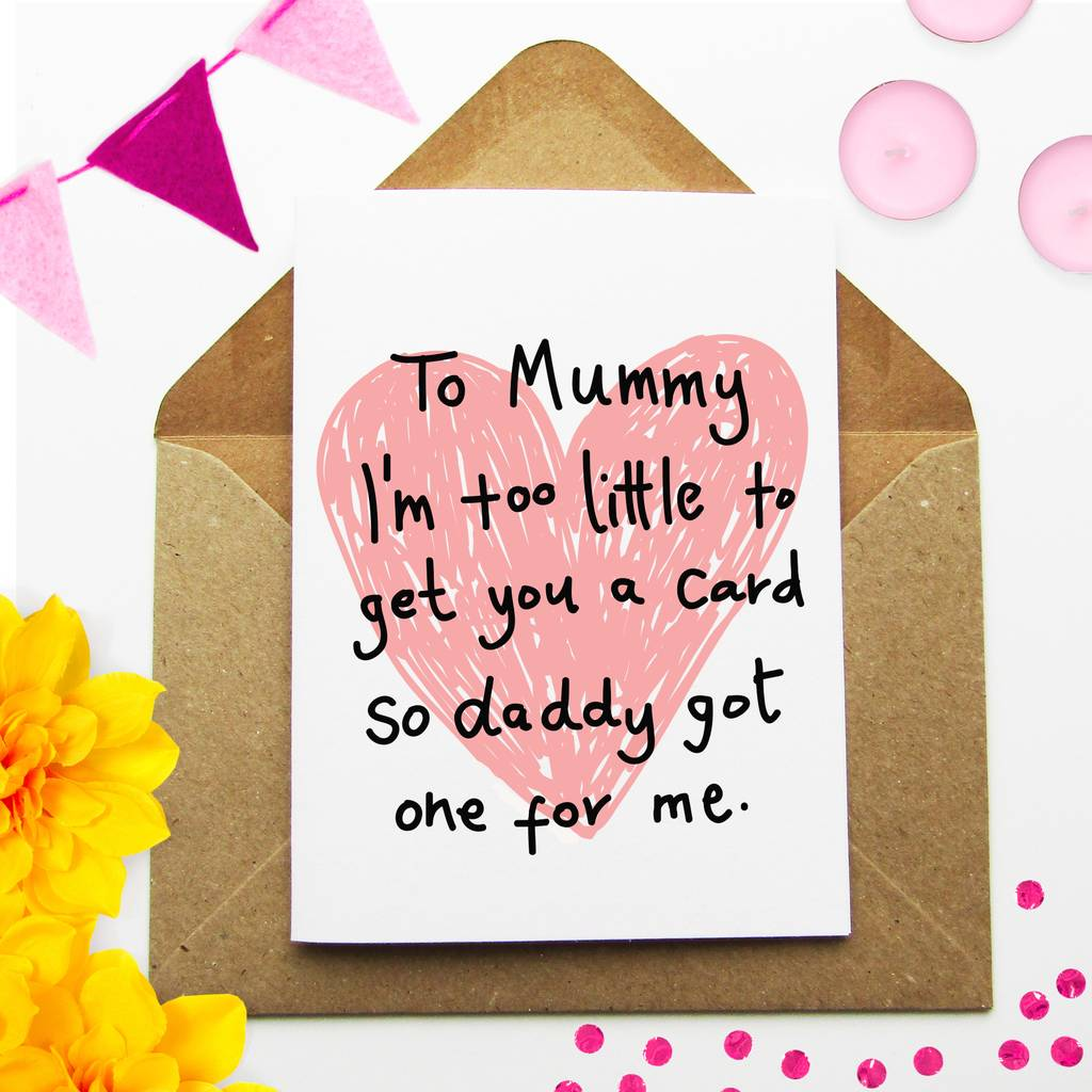 New Mummy Cute Birthday Card