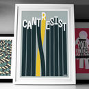 'Cant Resist' Fine Art Giclée Cycling Print