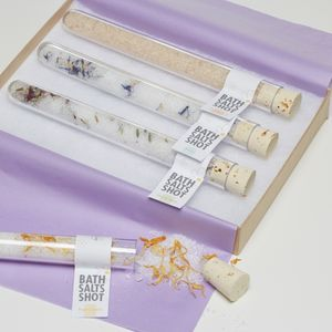 Cocktail Bath Salts Shots Gift Set - gifts for her