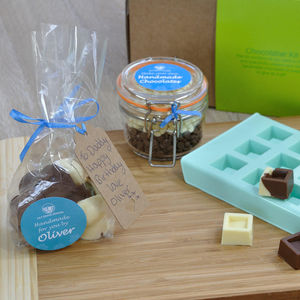 Make Your Own Chocolates For Dad With My Innovative Kit - children's cooking