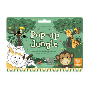 Pop Up Jungle Colouring In Play Scene - books