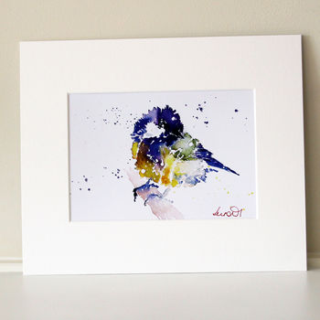 Bird Print, Great Tit