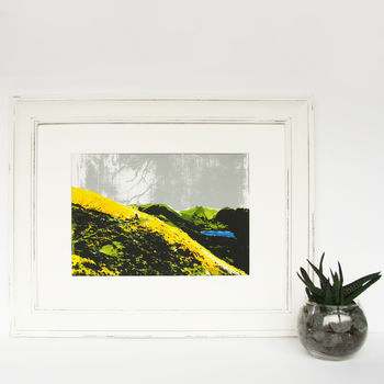 'Brothers Water' Rustic Frame