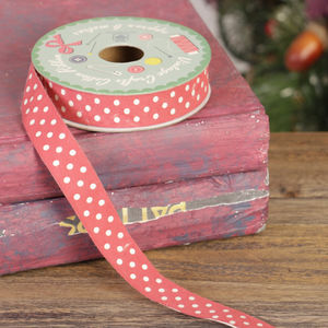 Vintage Red Ribbon