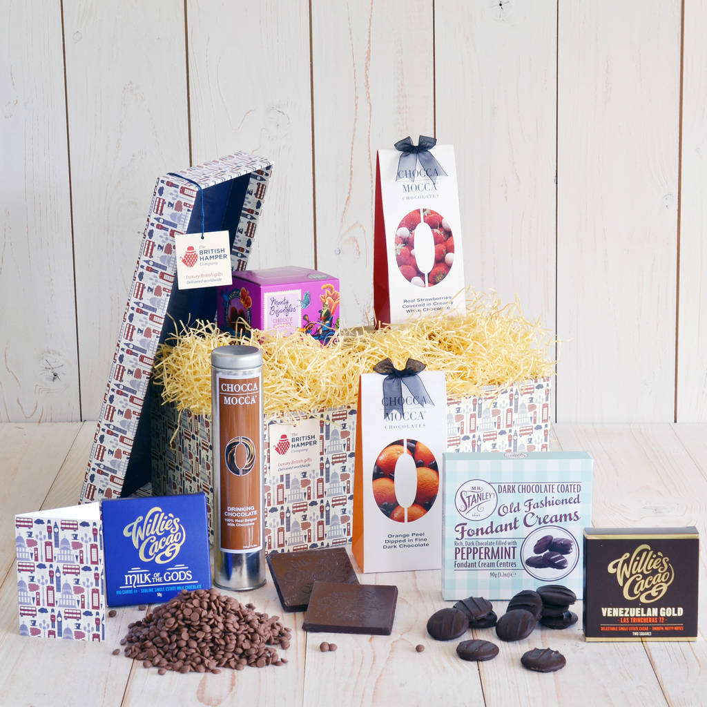 Divinely Decadent Chocolate Hamper