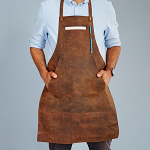 Personalised Buffalo Leather Apron