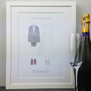 Bespoke Wedding Outfit Print