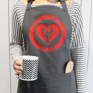 Personalised Lobsters For Life Apron - new in home