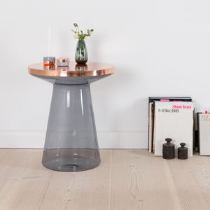 Glass Side Table - furniture