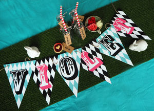 Alice Name Bunting - home accessories