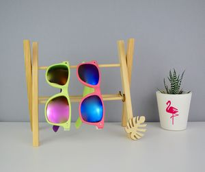 Handmade Sunglasses Storage Rack Monstera Leaf