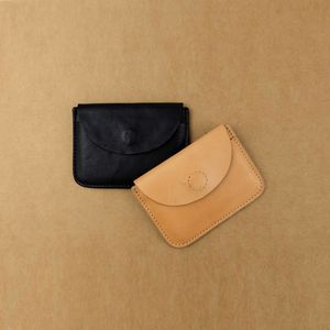 Envelope Style Leather Card Holder