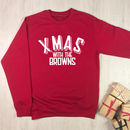 Xmas With The … Personalised Sweatshirt