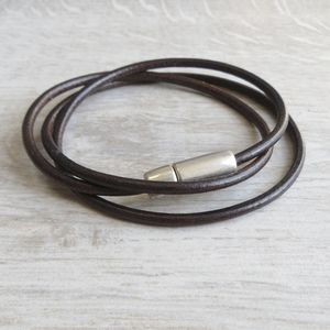 Leather Stanley Bracelet - bracelets