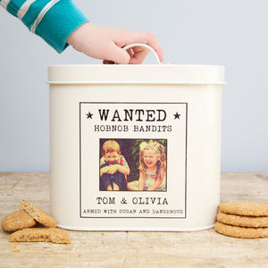 Personalised Polaroid Storage Tin - tins