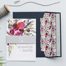 Floral Watercolour Wedding Invitation Set