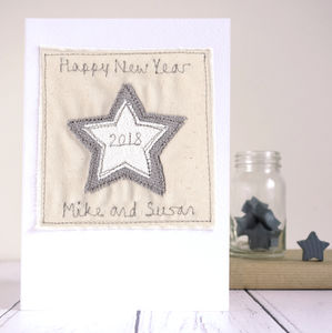 Personalised Happy New Year Card
