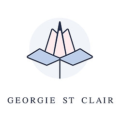 Georgie St Clair Design, Art & Illustration Logo