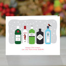 'Let the Festivities BeGIN' Christmas Card