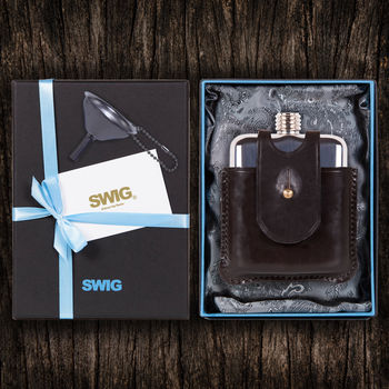 Swig Scottish Herritage Hip Flask Gift Set