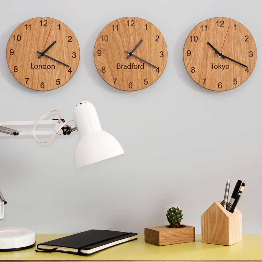 Personalised Places Clocks
