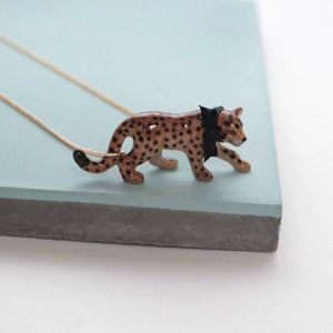 Leopard Necklace - necklaces & pendants